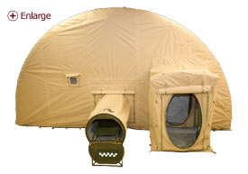 Adhesive Bonded Tent