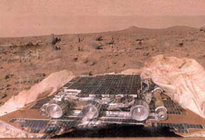 Protective Fabrics used for Mars landing