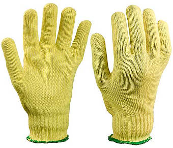 TurtleSkin Aramid Plus Knit Safety Gloves